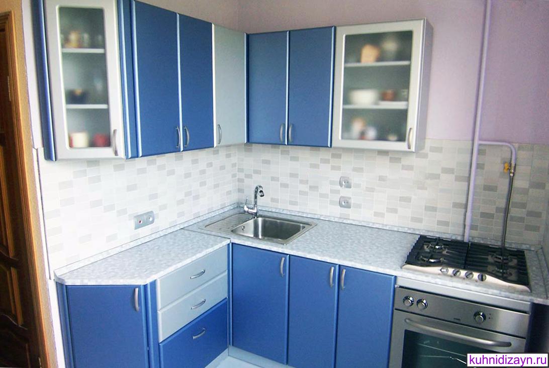 Угловая кухня для маленькой кухни картинки фото 9