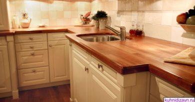 Деревянная столешница для кухни — виды и фото дизайна