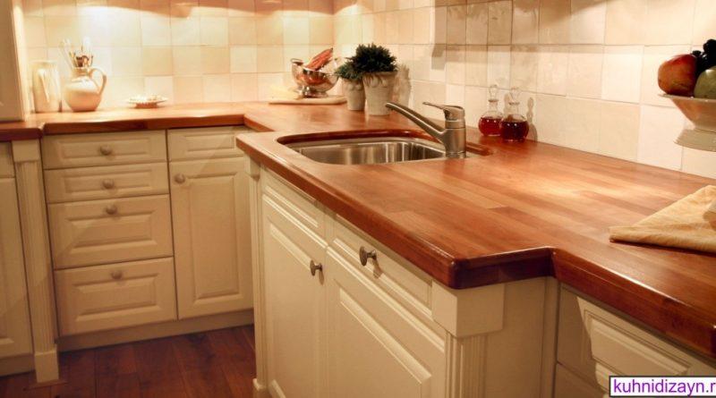 деревянная столешница для кухни, столешницы для кухни, столешница из дерева, кухонные столешницы