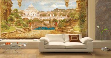 Особенности и преимущества фресок в дизайне интерьера