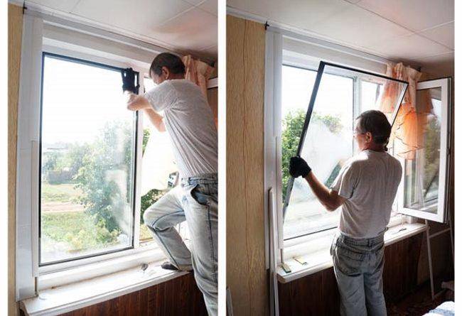 Как производится замена стекла в пластиковых окнах