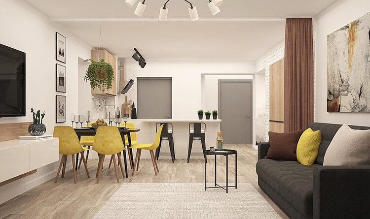 7 потрясающих способов зонирования комнат в небольшом доме