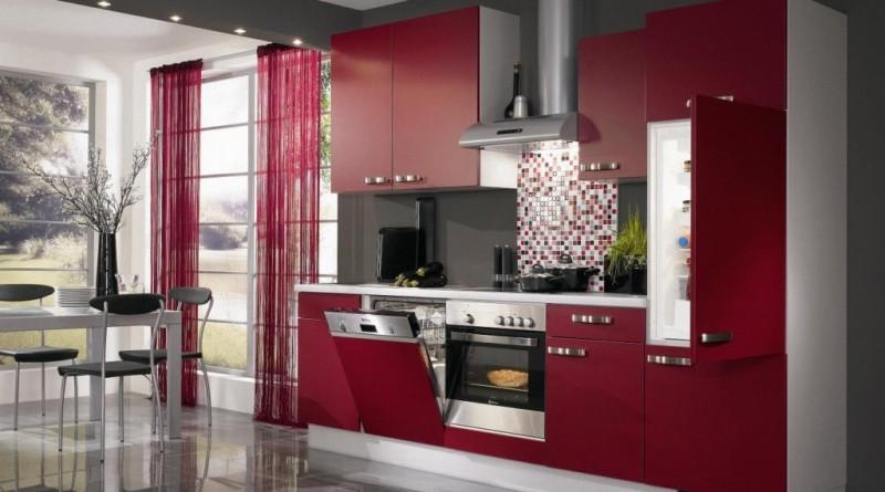Фото бордовой кухни, фото кухни бордо