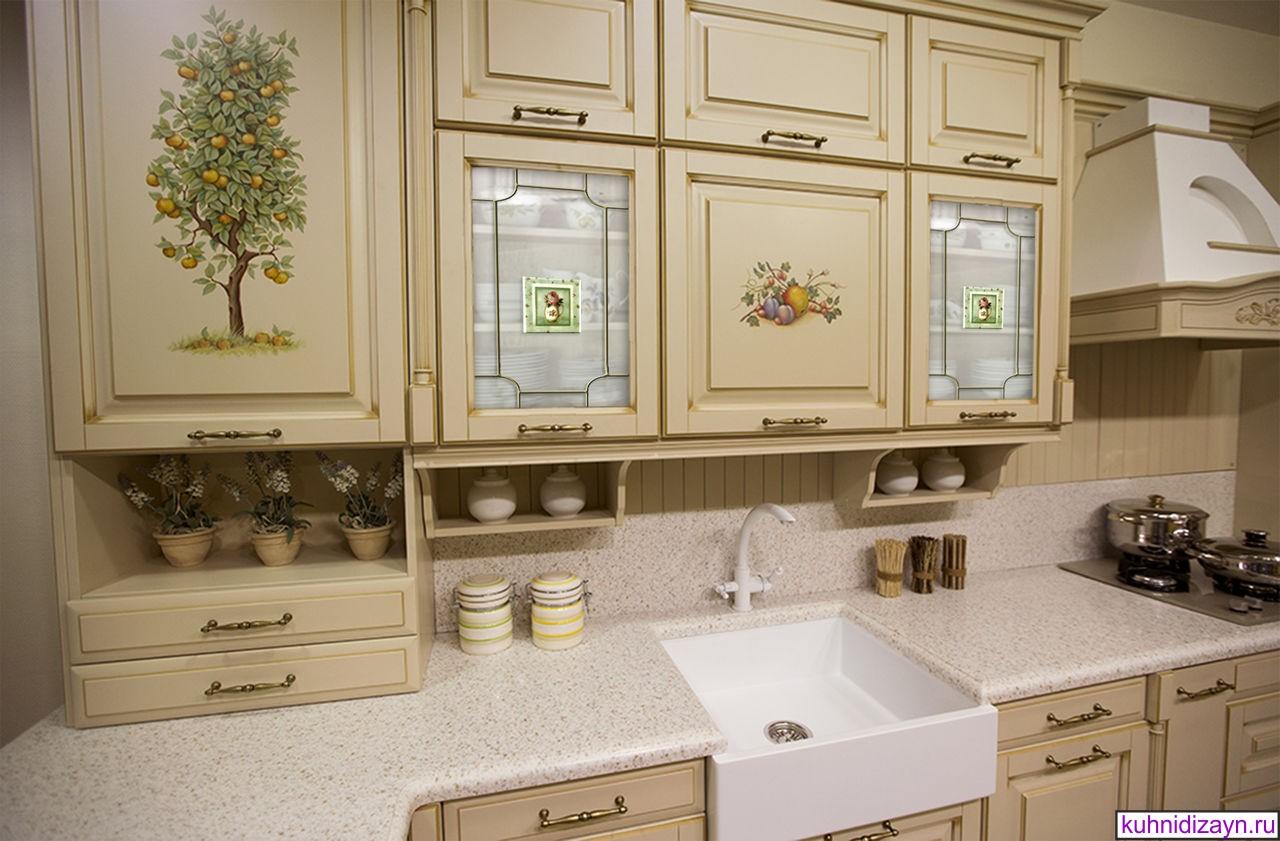 Фото дизайна кухни в стиле прованс, кухня прованс фото галерея